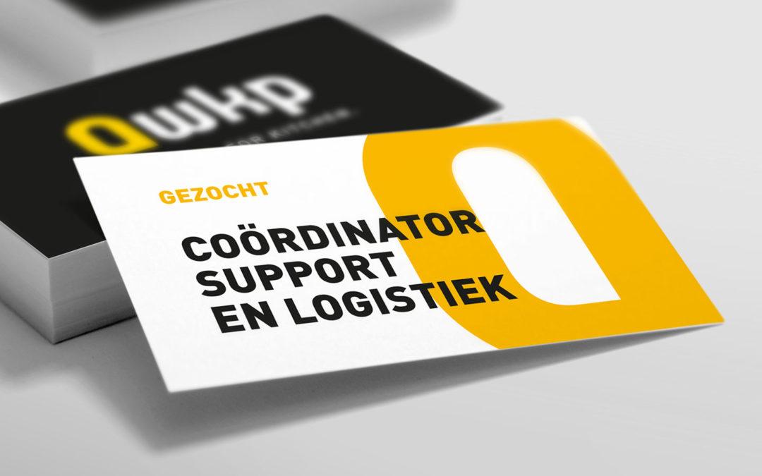Vacature: Coördinator Support en Logistiek