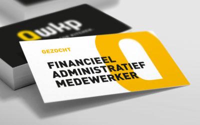 Vacature: Financieel administratief medewerker